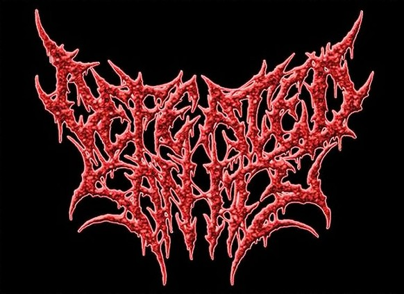 defeated sanity metal band logo http://www.nme.com/photos/31-illegible-black-metal-band-logos-1435801