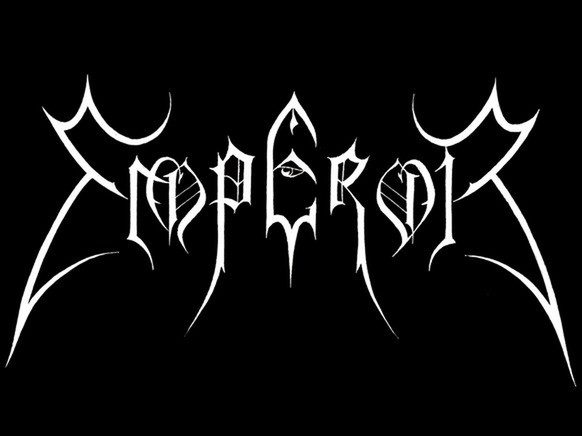 emperor black metal band logo norwegen https://www.wired.com/2015/10/the-beauty-and-total-illegibility-of-extreme-metal-logos/
